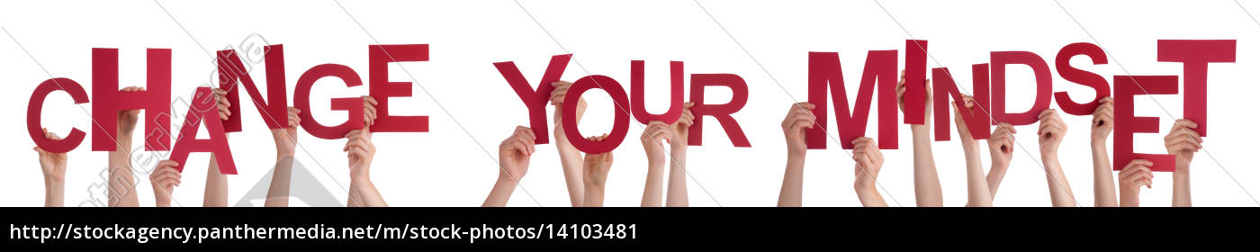 people, hands, holding, red, word, change - 14103481