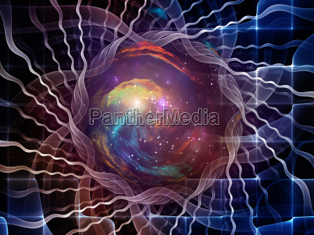 conceptual abstract visualization