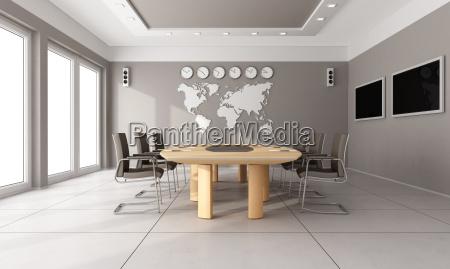 contemporary board room