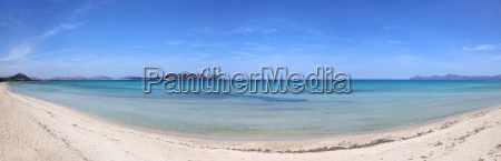 the bay of alcudia