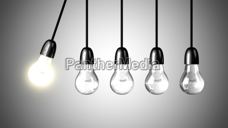 a light bulb will boost extinguished
