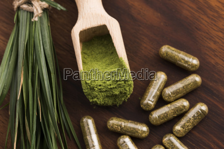 young barley grass detox superfood