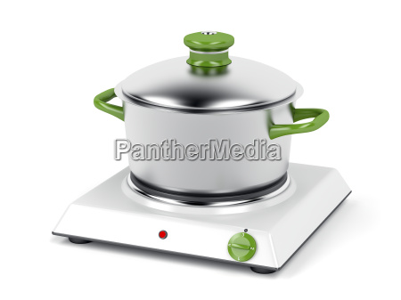 hot plate and cooking pot