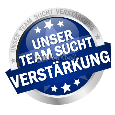 button with text our team is
