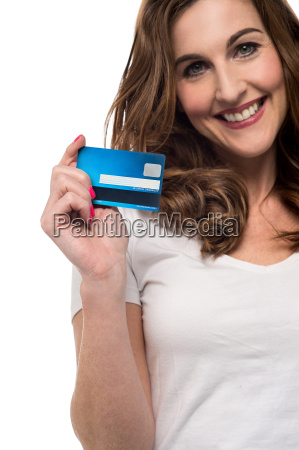 credit card make your shopping easy
