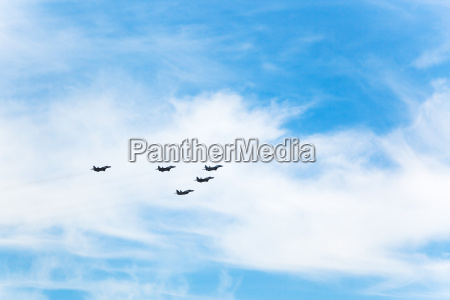 flight military fighter airplanes in white