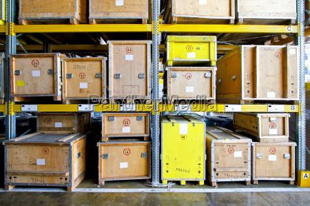 crates warehouse