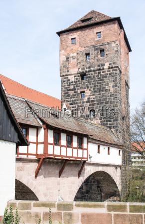 wasserturm in nuremberg