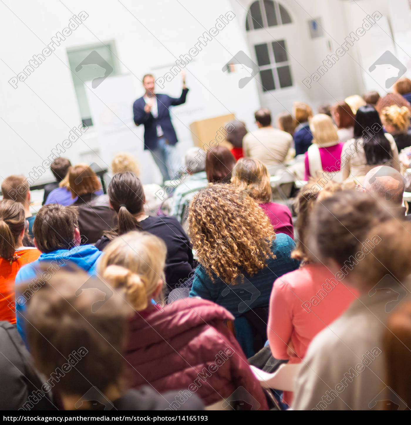 audience, in, the, lecture, hall. - 14165193
