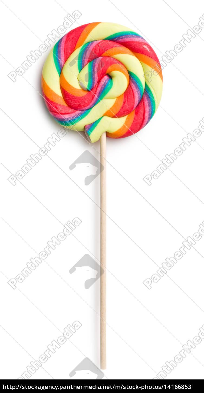 swirl, lollipop - 14166853
