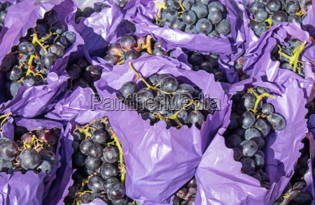 red grapes for sale at a