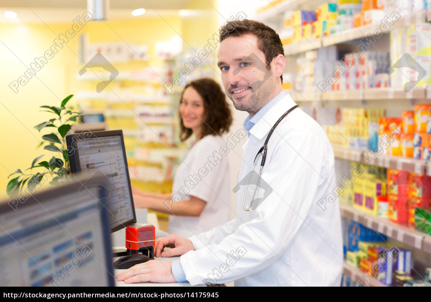 portrait, of, an, attractive, pharmacist, team - 14175945