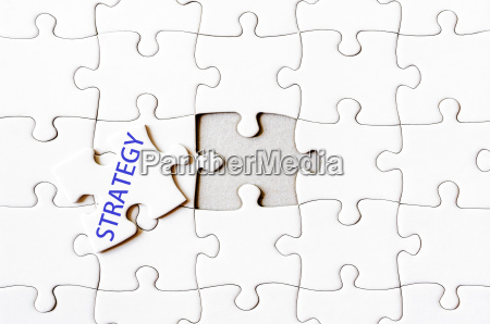 missing jigsaw puzzle piece with word