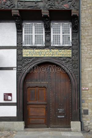 huneborstelsches house in braunschweig