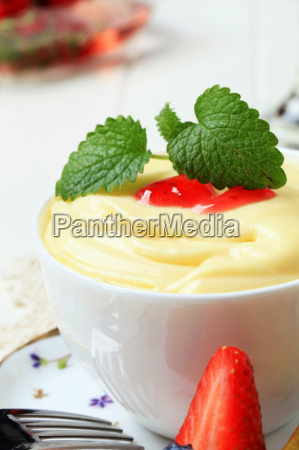 bowl of fruit puree