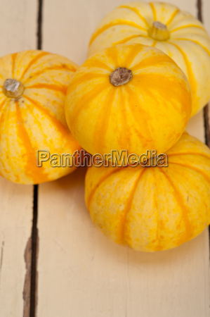 fresh yellow pumpkin