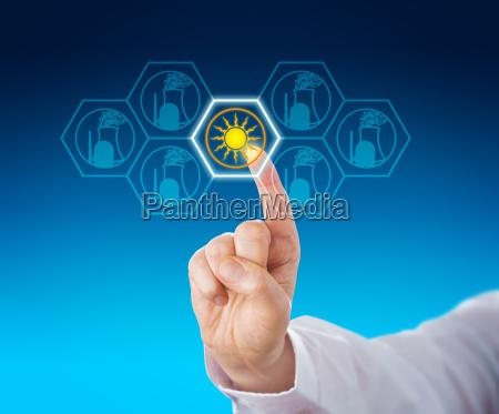 solar power selected over nuclear energy