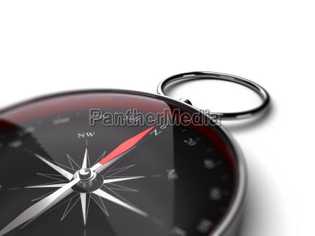 compass decision help concept