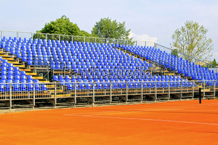 tennis court seats