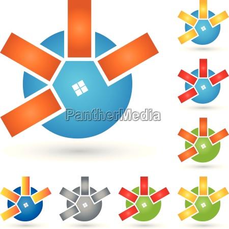 logo for real estate real estate