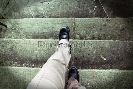 vertigo when climbing stairs acrophobia accident