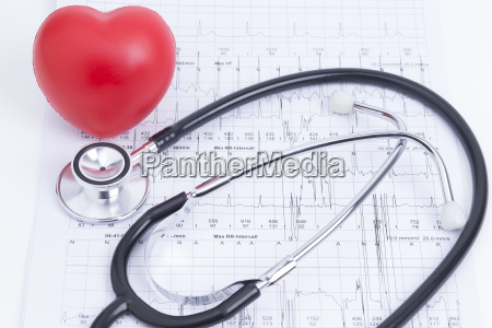stethoscope and heart