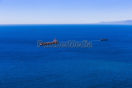 container cargo ship and vessels in