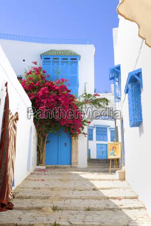 a building in tunisia in the