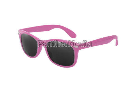 wayfarer sunglasses in pink