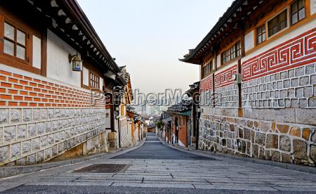 bukchon hanok historic district in seoul
