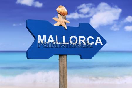 palma de mallorca with beach and