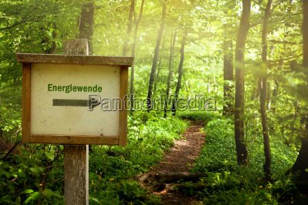 energiewende signpost
