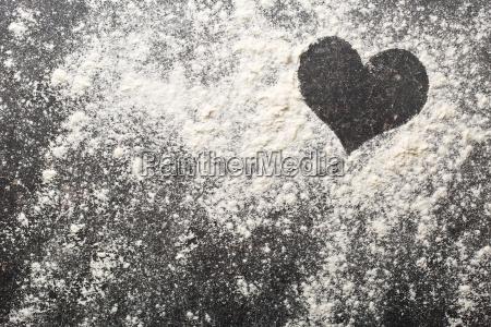 heart of white flour