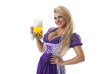 bavarian woman with a degree