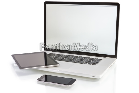 modern computer devices laptop tablet