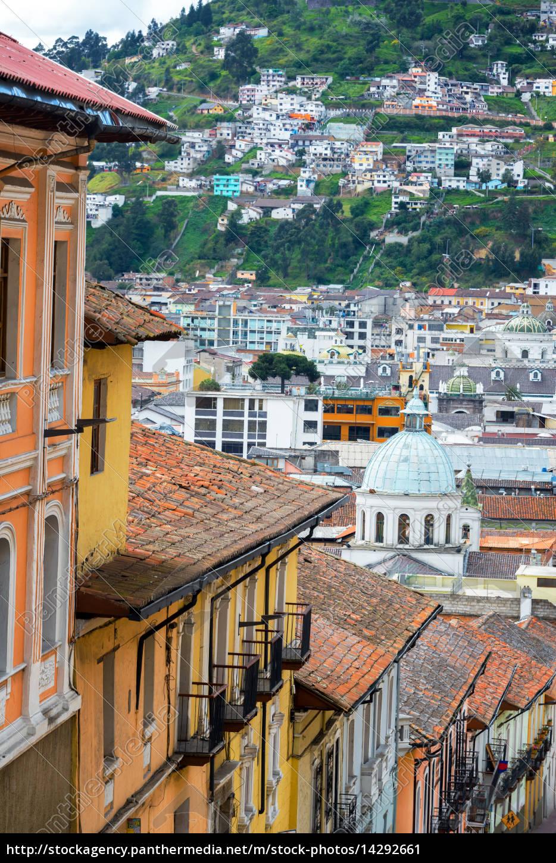 Colonial Quito Ecuador Stock Photo 14292661 Panthermedia