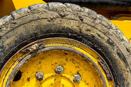 tire bulldozer
