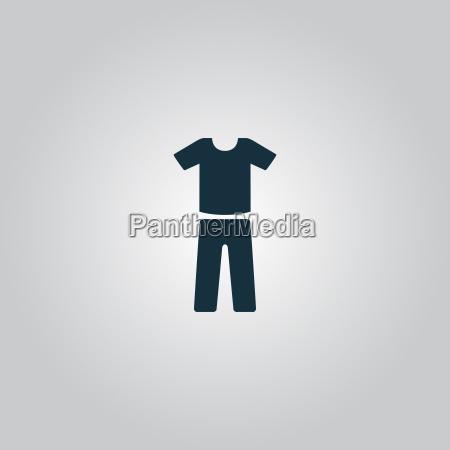 uniform pants and t shirt