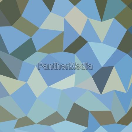 bondi blue abstract low polygon background