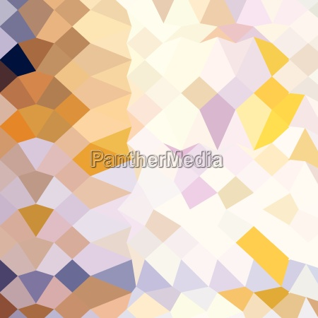 hansa yellow abstract low polygon background