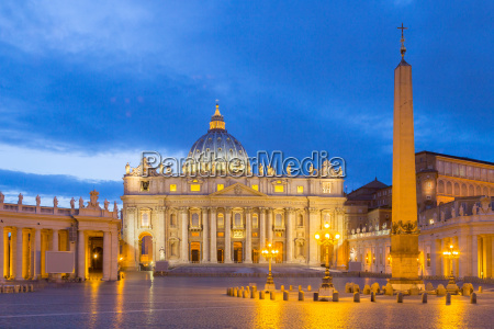 st peters basilica at the vatican