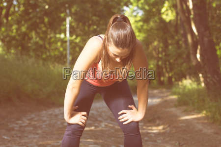 fitness healthy lifestyle young woman