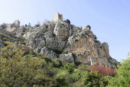 crusader castle saint hilarion north cyprus
