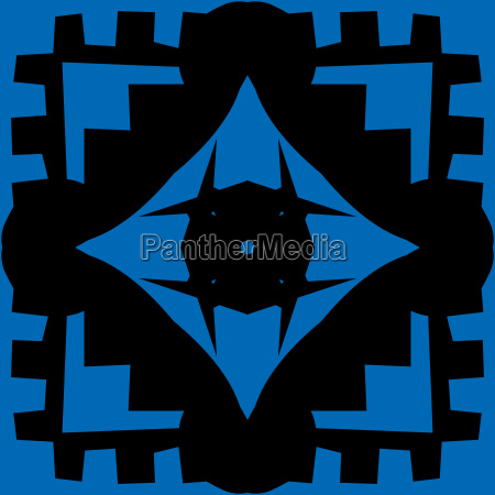 repeating blue diamond pattern shapes