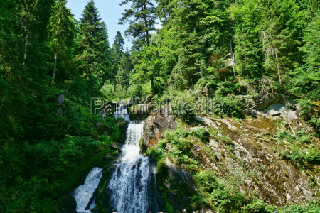 the waterfall in triberg 27