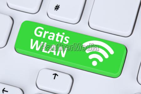 gratis wlan oder wifi hotspot verbindung