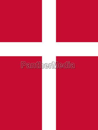 flag of denmark vertical