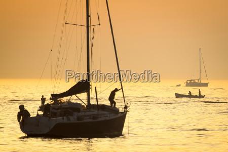 boats in adriatic sea