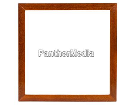 scuro piazza cornice di legno