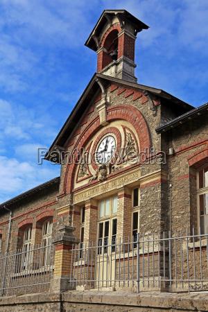 school buildings ecole communale de garcons